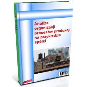 Analiza organizacji procesów produkcji na przykładzie spółki