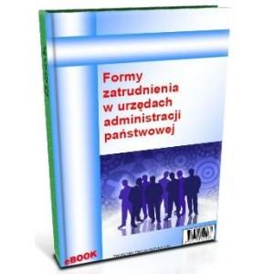 Formy zatrudnienia w urzędach administracji państwowej