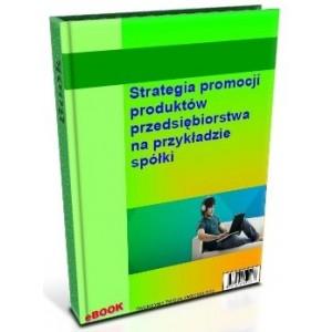 Strategia promocji produktów przedsiębiorstwa na przykładzie spółki